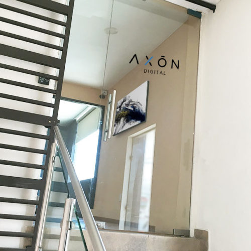 Entrada Oficinal Marketing Digital Axon