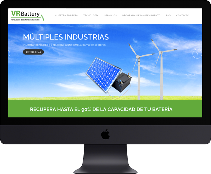 Website VR Battery