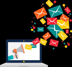 Computadora Email Marketing