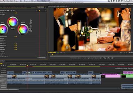 Editor de Video Adobe Premiere Pro