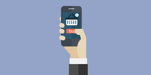 Ilustración App para E-Commerce