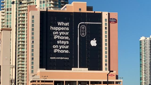 Publicidad Iphone en Las Vegas