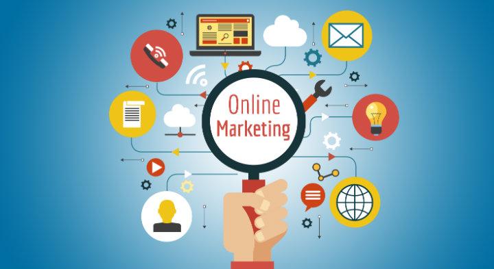 Gráfico de Marketing Online