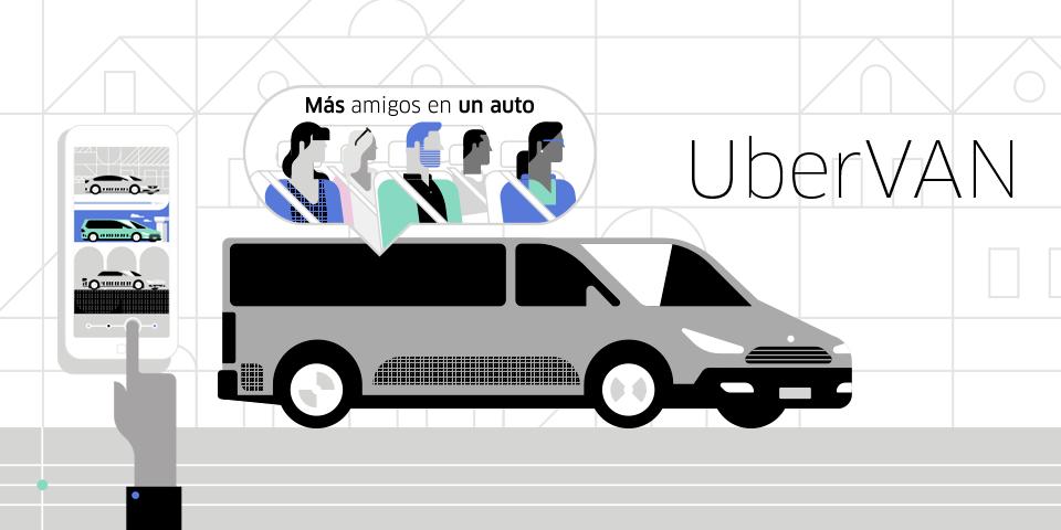 Uber lanza UberVAN en Monterrey