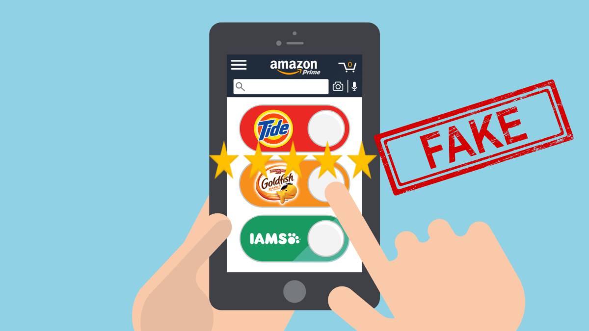 Recomendaciones falsas de Amazon