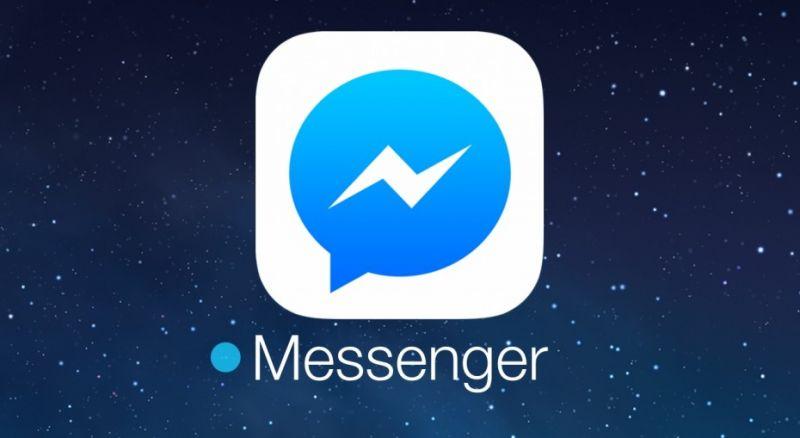 Modo nocturno de Facebook Messenger